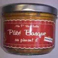 Pâté BASQUE - piment Espelette - FRANCE